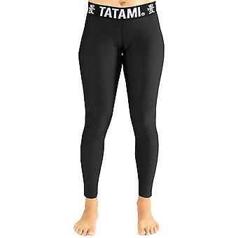 Tatami Fightwear Frauen's Schwarz Minimal Spats - Schwarz