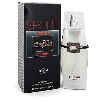 Mister lomani sport eau de toilette spray door lomani 548533 100 ml