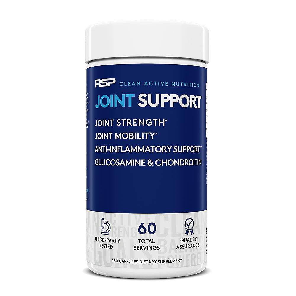 Rsp joint support, msm & glucosamine chondroitin, joint strength & flexibility, anti-inflammatory & antioxidant support (180 capsules, 60 servings)