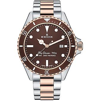 Edox 53017 357RBRM BRI Skydiver Men's Watch
