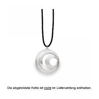 bastian inverun - 925/- silver pendant, scratch matt - 23100