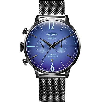 Welder Breezy Quartz Analog Man Watch with WWRC1007 Stainless Steel Bracelet