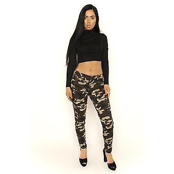 Slim Hipster Camouflage Pants