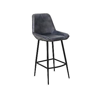 Light & Living Bar Chair 45x58x105cm Zuko Antik Grey