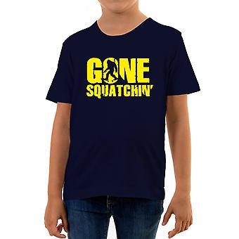 Reality glitch gone sasquatchin kids t-shirt