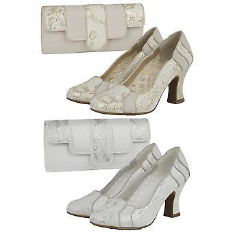 Ruby Shoo Women's Priscilla Louis Heel Court Shoe  & Matching Canberra Bag