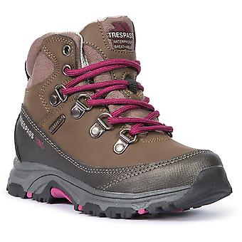 Trespass Boys Glebe II Waterproof Breathable Walking Boots