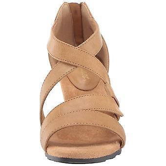 Easy Street Damen Amuse Kleid Casual Sandale mit Rücken Reißverschluss Heeled