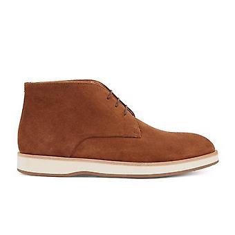 Hugo Boss Footwear Hugo Boss Men's Dark Brown Oracle Desert Suede Boots