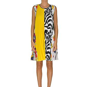 Msgm Ezgl020076 Women's Multicolor Polyester Dress