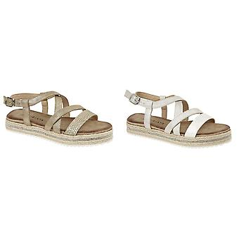 Cipriata Womens/Ladies Carina Crossover Buckle Sandals