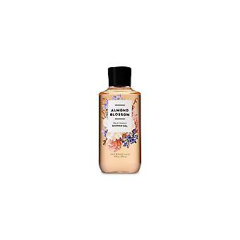 (2 Pacote) Banho e corpo funciona flor de amêndoa gel chuveiro 10 fl oz / 295 ml