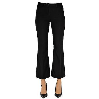 N°21 Ezgl068171 Women's Black Cotton Pants