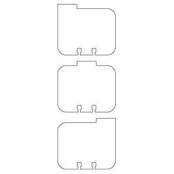 Pronty Memorydex Cards tabs assorted 21 pcs 472.750.502