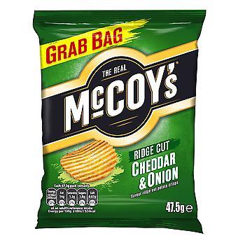McCoys Cheddar & Onion Flavour Crisps