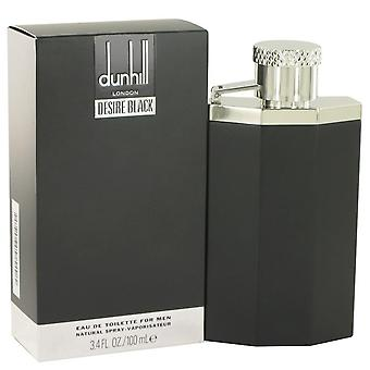 Deseo negro Londres Eau De Toilette Spray por Alfred Dunhill 3.4 oz Eau De Toilette vaporizador
