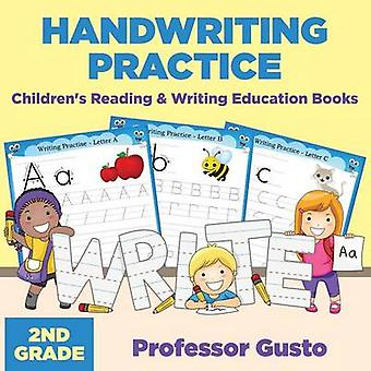 Handwriting Practice 2Nd Grade  Childrens Reading  Writing Education Books by Gusto & Professor