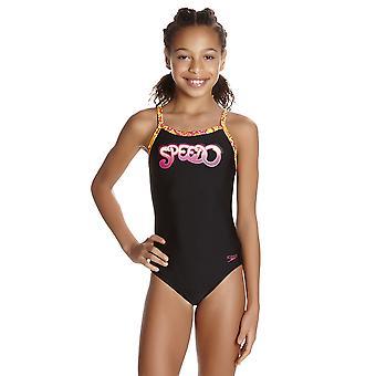 Speedo Fusion moro Thinstrap Muscleback badetøy for jenter