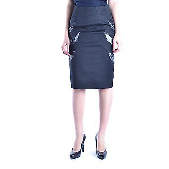 Balizza Ezbc206022 Frauen's schwarzer Baumwollrock