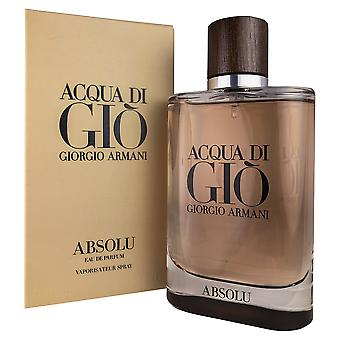 Acqua di gio absolu 4.2 oz edp spray