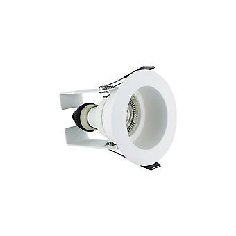 Integral - LED Fire Rated Downlight Spotlight Recessed White Insulation Guard / GU10 Holder White - ILDLFR70E003
