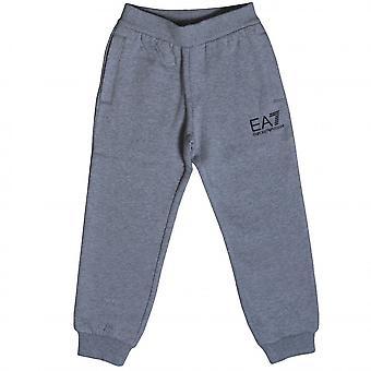 EA7 Boys EA7 Boy's Medium Grey Jogging Bottoms