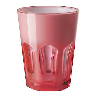 Mario Luca Giusti Set of 6 Double Face Plastic Cups Fuchsia