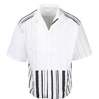Neil Barrett offener Kragen Shirt