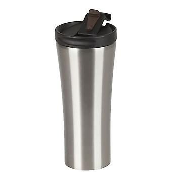 SS Double Wall Travel Mug Non-slip Base & Lid (470mL)
