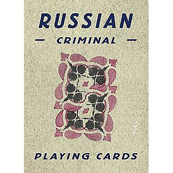Russian Criminal Playing Cards - Deck of 54 Playing Cards by Russian C