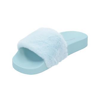 glamorøse FW3844 TW kvinners sandaler blå flip-flops sommersko