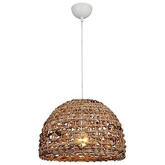 Biydie Suspension Lampe Couleur Ecru, Métal noir, string, L35xP35xA83 cm