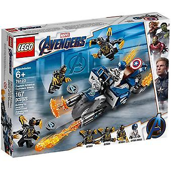 LEGO 76123 Captain America: Angriff der Outrider