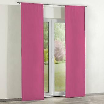 Oppervlakte gordijnen 2 pc's., roze, 60 x 260 cm, Loneta, 133-60