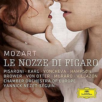 Pisaroni/Karg/Yonche - Mozart: Le Nozze Di [CD] USA import
