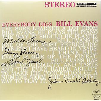 Bill Evans - importation USA Everybody Digs Bill Evans [Vinyl]
