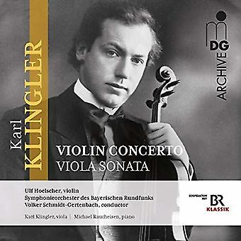 Concerto For Violin & Orch / Sonata Viola & Piano [CD] USA import