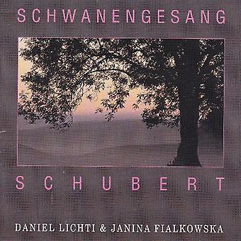 Daniel Lichti - Schubert: Schwanengesang [CD] USA import