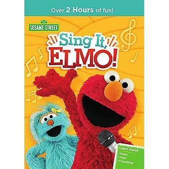 Sesame Street: Sing It Elmo [DVD] USA import