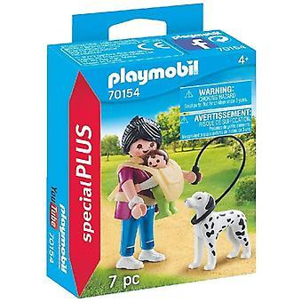 Playmobil 70154 Special Plus Moeder met baby en hond