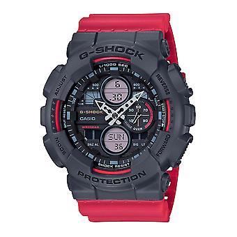 Casio G-Shock Watch GA-140-4AER - Hartsi Gents kvartsi analoginen - digitaalinen