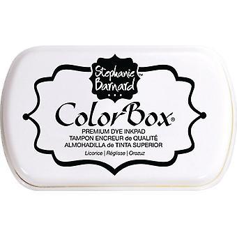 Réglisse Clearsnap ColorBox Premium Dye Encre Pleine Taille Réglisse