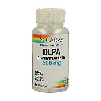 DL-Phenylalanine 60 vegetable capsules of 500mg