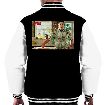 American Pie Jim Touches Pie Men's Varsity Jacket