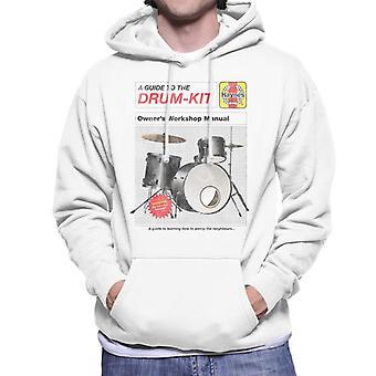 Haynes Drum Kit Owners Workshop Manual Men's Hooded Sweatshirt