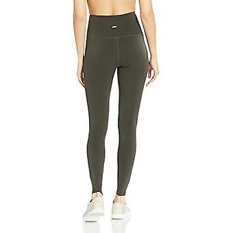 Essentials Women's Performance High-Rise Full Length Active Legging, D...