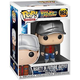 Funko Pop! Vinile Torna al futuro Marty in future outfit #962