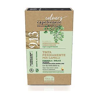 Capelvenere Värit - 9,13 Erittäin vaalea Kultainen Tuhka Blondi 1 yksikkö