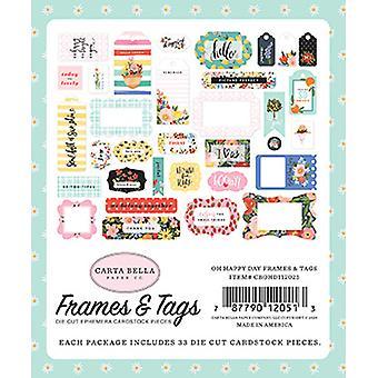 Carta Bella Oh Happy Day Cadres & étiquettes