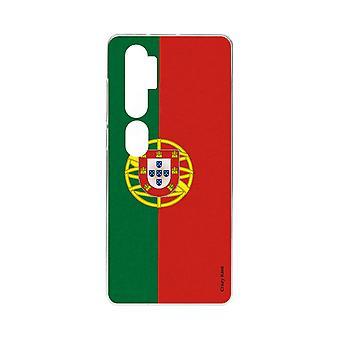 Coque Pour Xiaomi Mi Note 10 Souple Drapeau Portugais